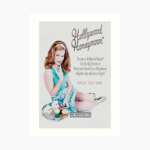 Hollywood Honeymoon™ Poster Art Print
