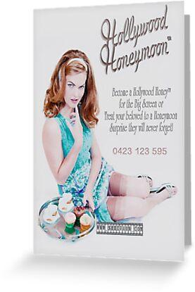 Hollywood Honeymoon™ Poster by shhevaun