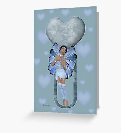 Valentine Fae Greeting Card