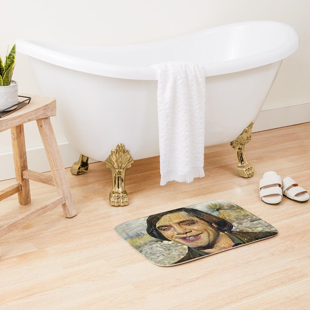 The Smile Bath Mat