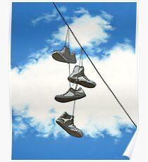 Sky Chucks Poster