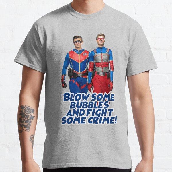 Soplemos algunas burbujas y luchemos contra el crimen Camiseta clásica