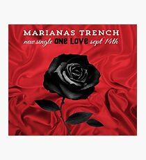 marianas trench single one love Photographic Print
