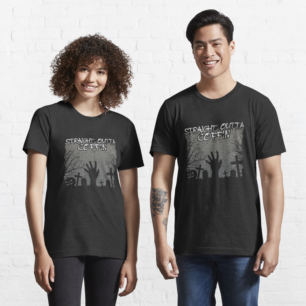 Straight Outta Coffin - Scary Coffin Essential T-Shirt