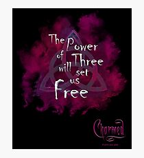 Charmed: The power of Three Photographic Print