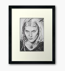 Freyja - The sight Framed Print