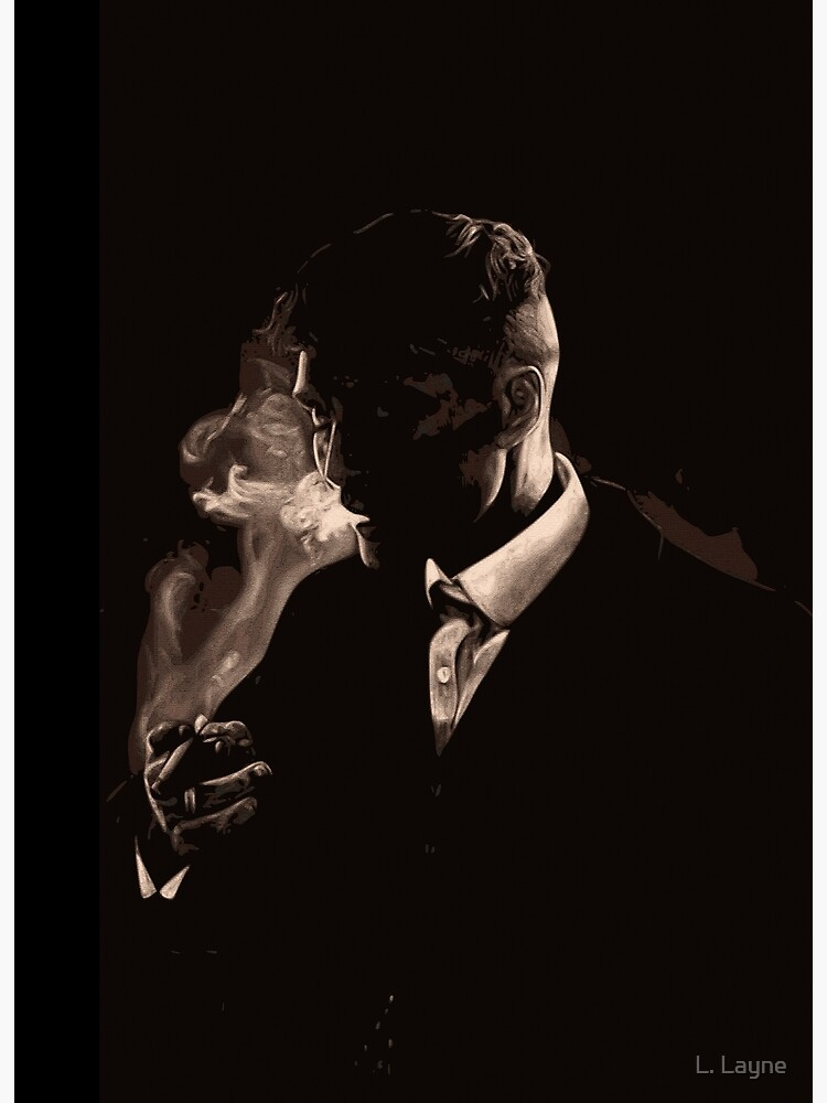 Tommy Shelby Smoking a Cigarette by LorenzoGnech