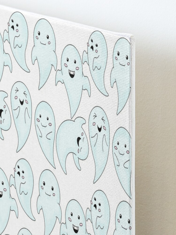 Alternate view of Cute Little Ghosts Mounted Print
