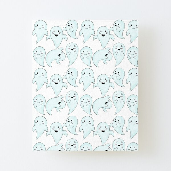 Cute Little Ghosts Canvas Mounted Print