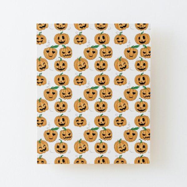 Cute Little Pumpkin Patch Wood Mounted Print
