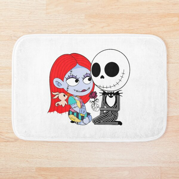 Jack and sally Bath Mat