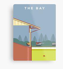 The Bay Metal Print