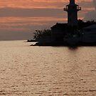 Lighthouse at Dawn, Nassau, Bahamas by Shane Pinder