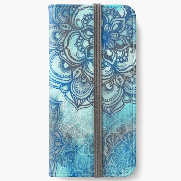 Lost in Blue - a daydream made visible iPhone Wallet