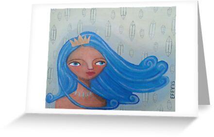 Elemental Goddess of Air by EffyStarr
