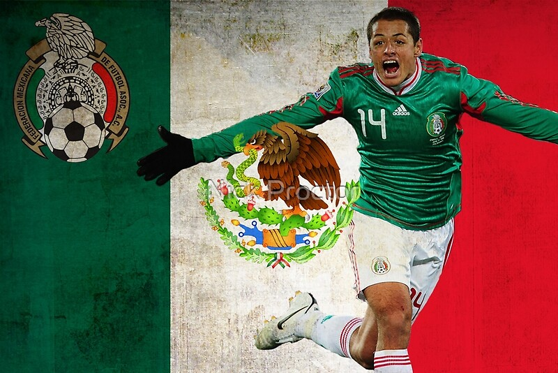 """Chicharito Mexico Poster Design"" Posters By NPDesigns"