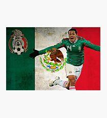 Chicharito Mexico Poster Design Photographic Print