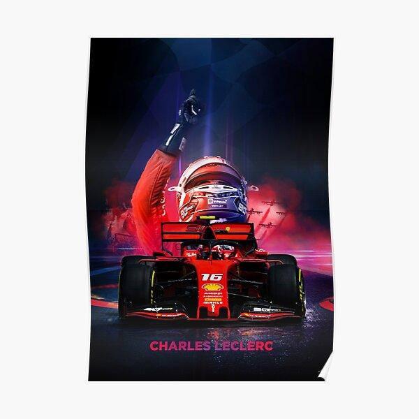 Charles Leclerc Formula 1 poster Poster