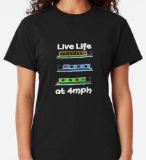 Narrow boat Canal Boat T shirt Classic T-Shirt