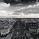 A view from Arc de Triomphe by Ronny Stiffel