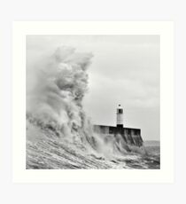 Porthcawl Lighthouse Art Print