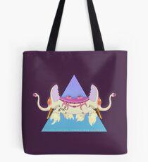 Ancient Psychic Tandem War Elephant Tote Bag