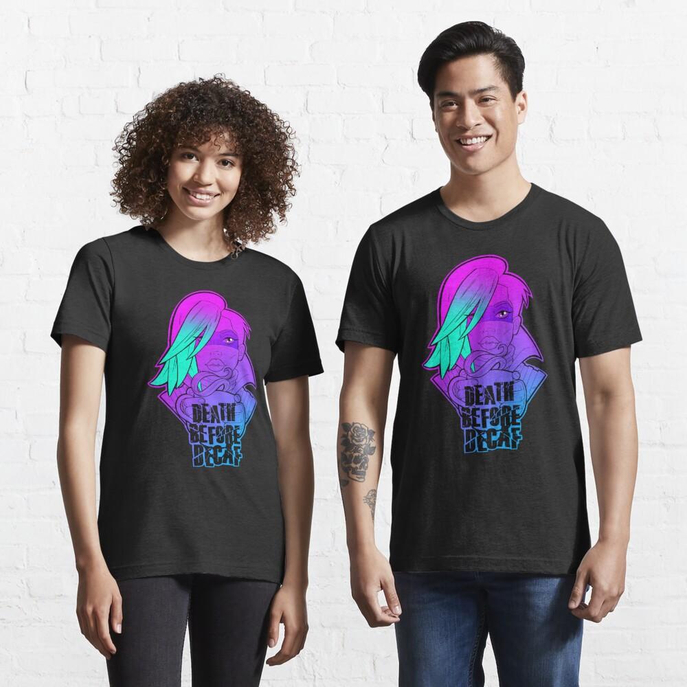 Borderlands Lorelei- Death Before Decaf Essential T-Shirt