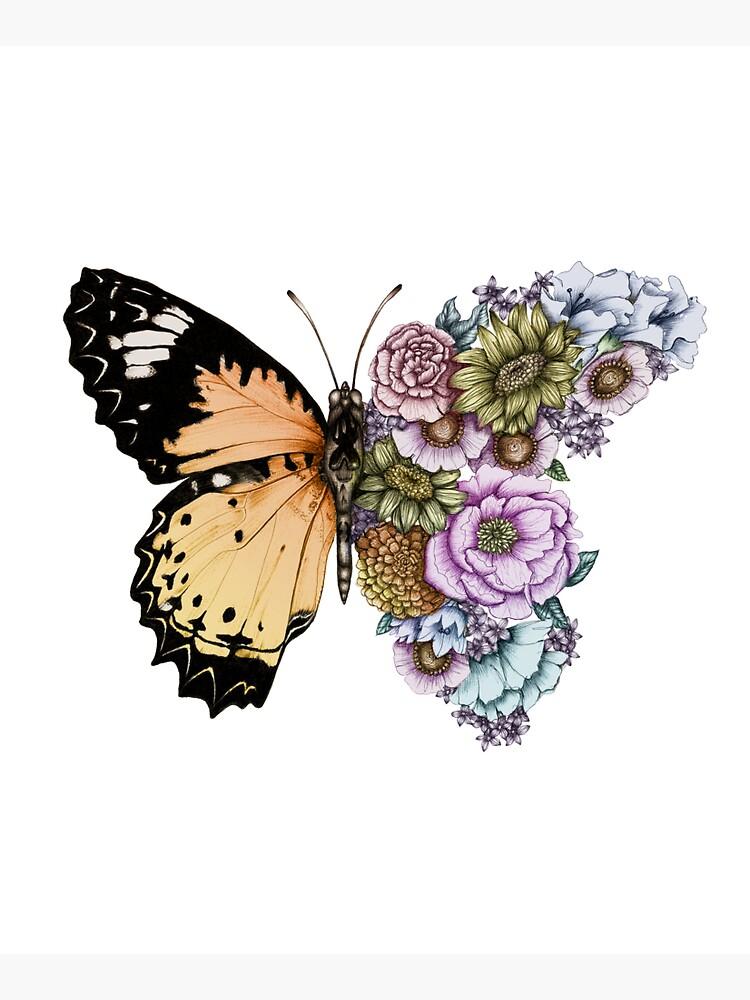Butterfly in Bloom II by ECMazur