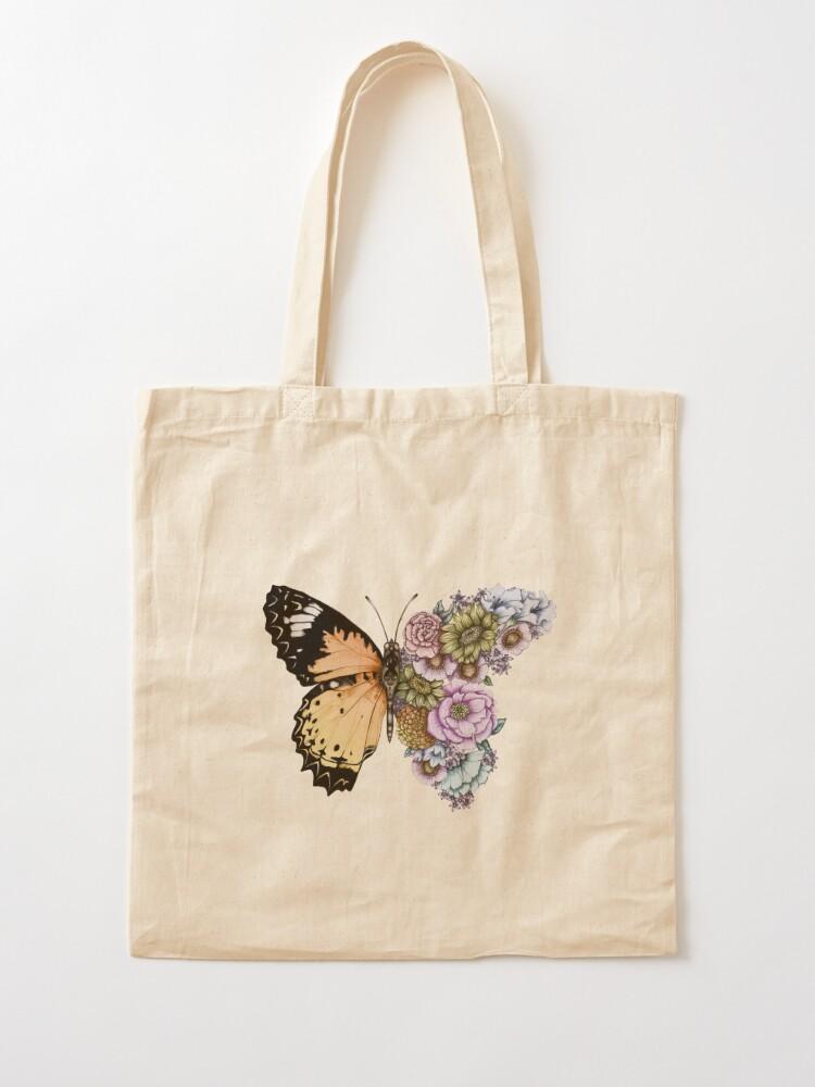 Alternate view of Butterfly in Bloom II Tote Bag