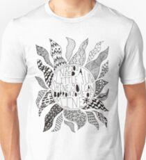 Camiseta ajustada TFB Sunshine Zentangle