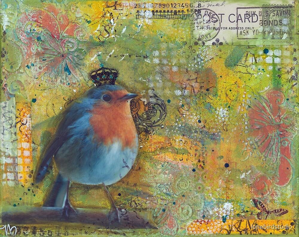 Bird King by lonebirdstudio