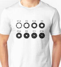 F-stops - Black T-Shirt