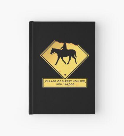Headless Horseman Sign Hardcover Journal