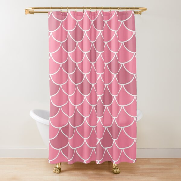 Fish Scales Curtain Shower Curtains Redbubble