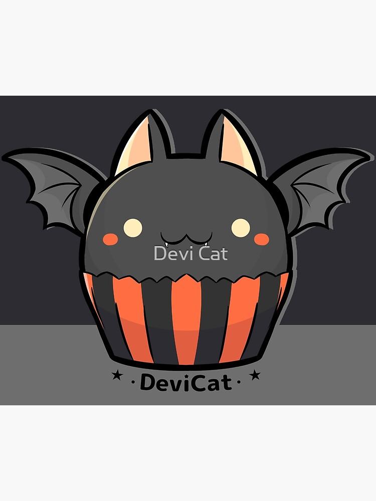 Halloween Bat CupCake - 2019 by devicatoutlet