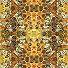 Bees painting - 2019 by Gwenn Seemel
