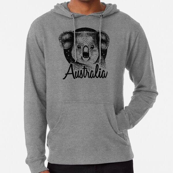 Australia Animal Gift - Koala Vintage Style Design Sudadera ligera con capucha