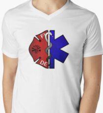 Fire Medic Men's V-Neck T-Shirt