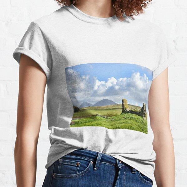 The ruins of Finlaggan on Islay, Scotland Classic T-Shirt