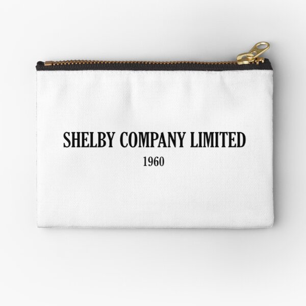 SHELBY COMPANY LIMITED Zipper Pouch