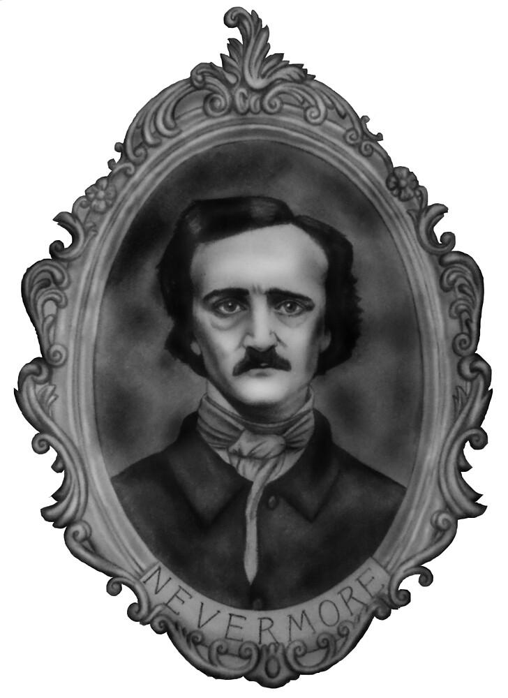Edgar Allen Poe by rachelshade