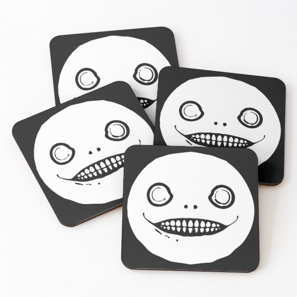 emil weapon nier automata Coasters (Set of 4)