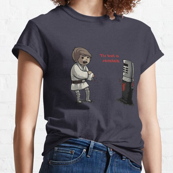 The Black Night and Luke. Tis but a scratch! Classic T-Shirt