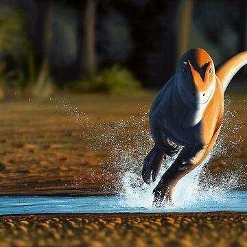 Allosaurus Sprint by FredWierum