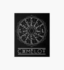 Camelot Wheel / Circle of Fifths Art Board Print