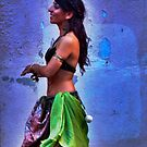 Belly Dancer (ii) by Vivian V  Mairo