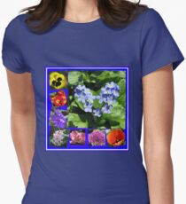 Waltz of the Flowers Collage T-Shirt