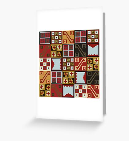 Tocapu Greeting Card