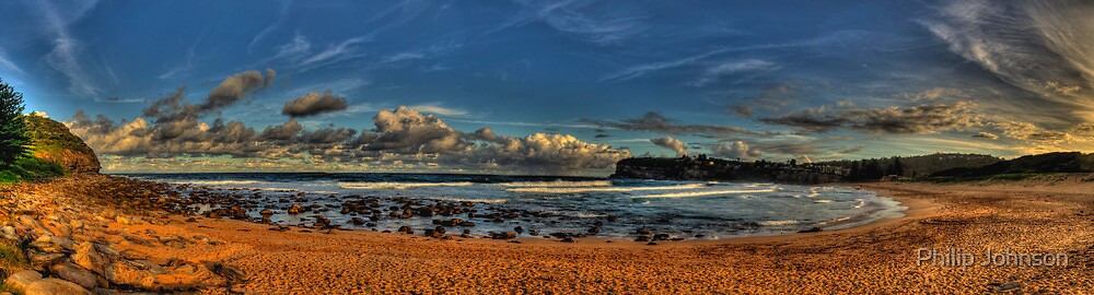 Avalon Panorama - Avalon Beach, Sydney (65 Exposure HDR) The HDR Experience by Philip Johnson