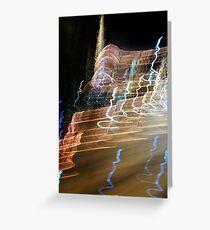 Blur IV Greeting Card